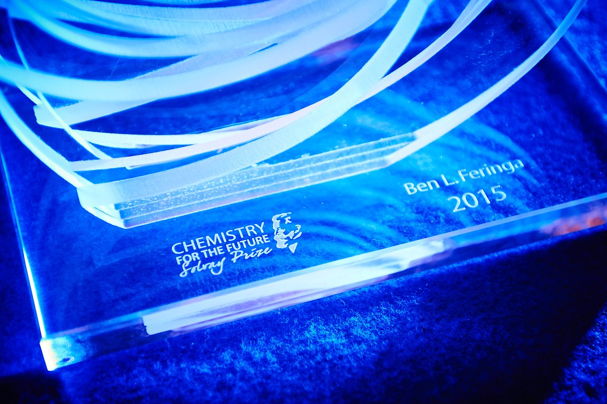 Solvay Prize Ceremony 2015