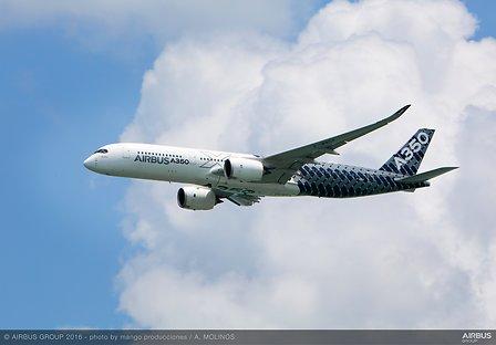Plane Airbus A350