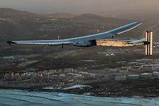 Solar Impulse from takeoff from Hawaii