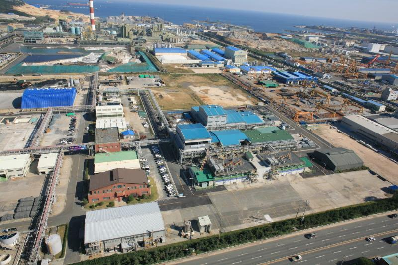 Aerial view of Onsan plant