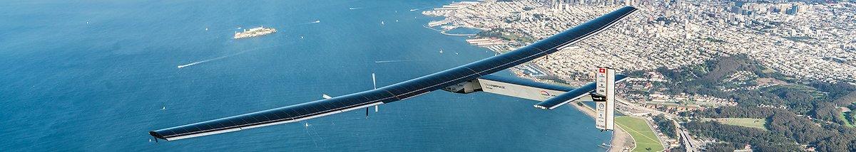 Solar impulse banner
