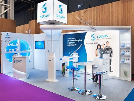 SOLVAY-Stand