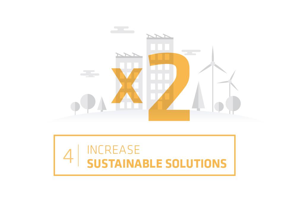 Logo Business solution target