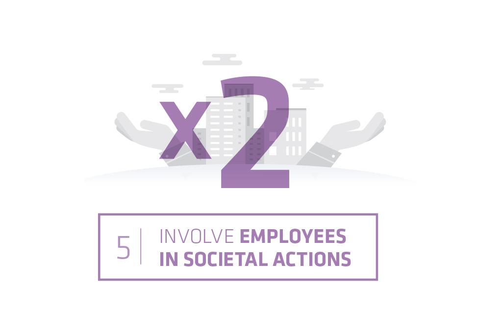 Logo societal actions target