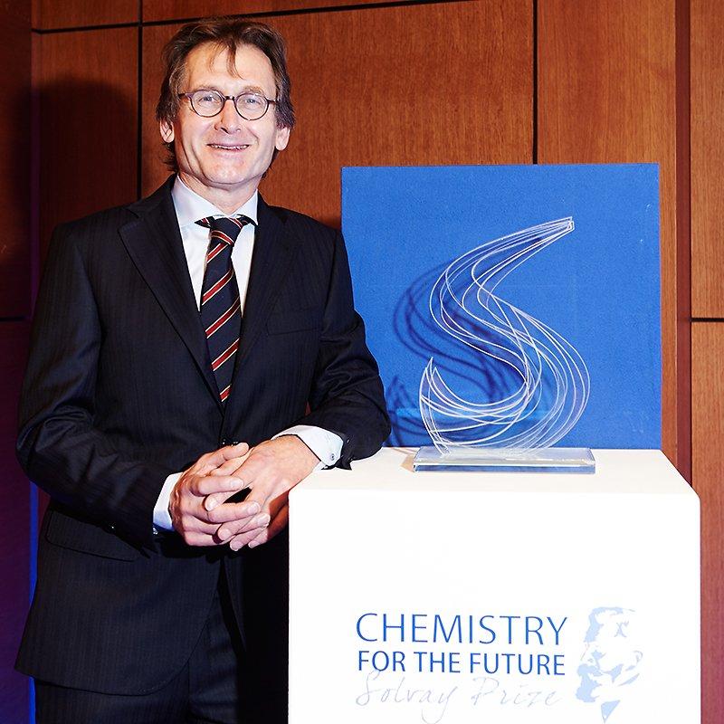 Ceremonie du Prix Solvay 2015