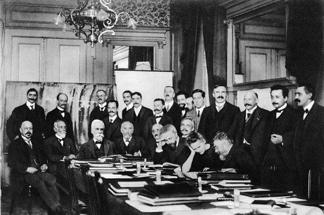 Solvay Council of Physics 1911, Belgium