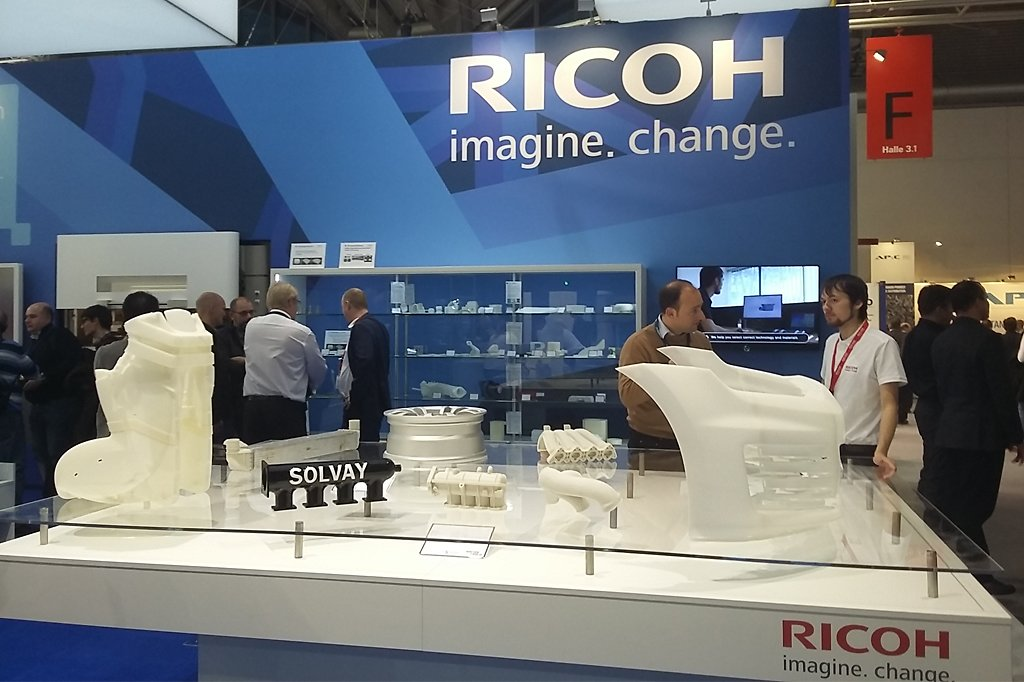 Ricoh Booth Formnext