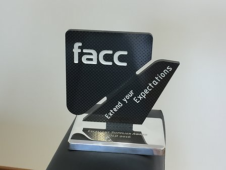 solvay receives gold award from FACC