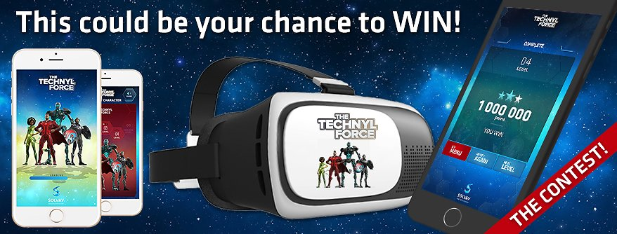 Technyl® Force Constest VR Headset