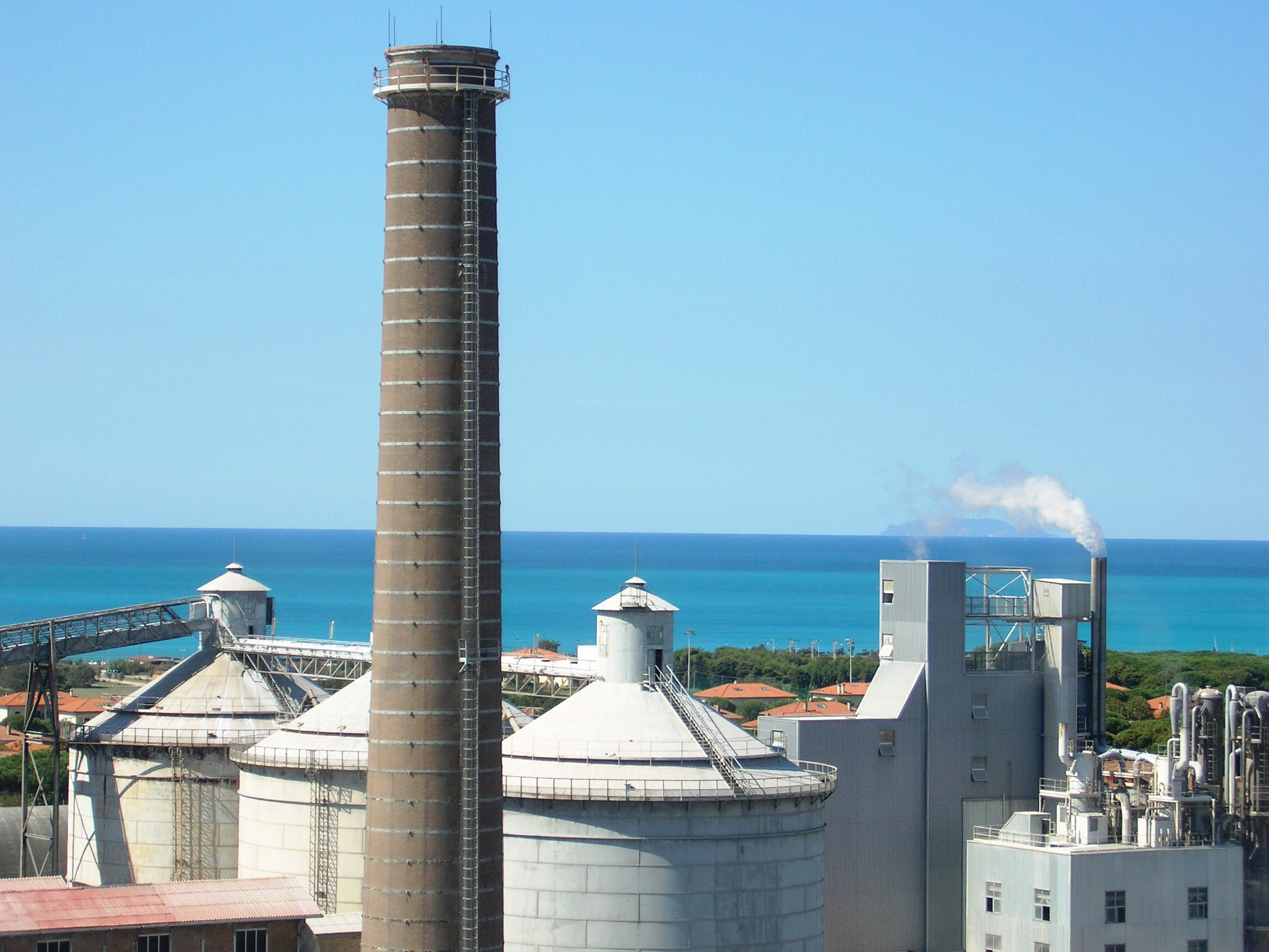 The Rosignano plant in Italy