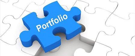 puzzle portfolio retaillé
