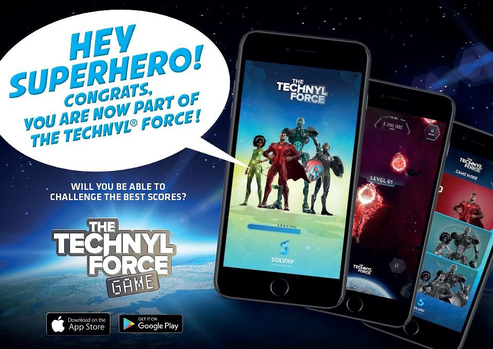 Technyl® Force Game Postcard 1