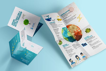 COP23 Brochure Poster folding instructions