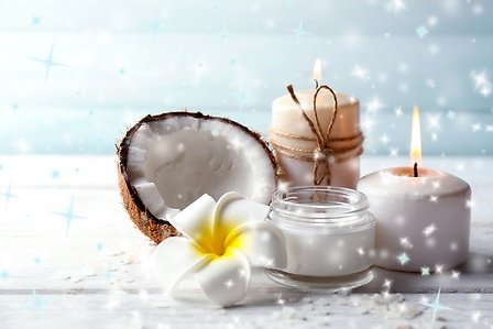 Spa coconut products