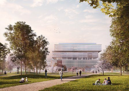 Schmidt Hammer Lassen Architects_Solvay HQ_Quad Campus_Main image