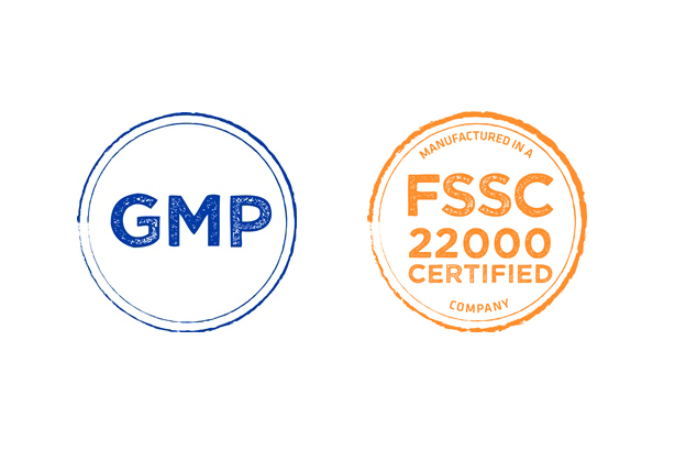 stamps gmp and FSSC for IPh Sodium Carbonate product