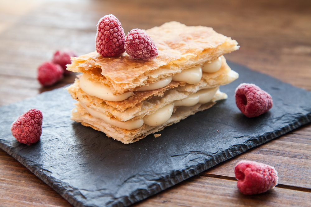 raspberry-millefeuille