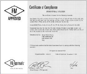 fomblin-pfpe-fm-certificate