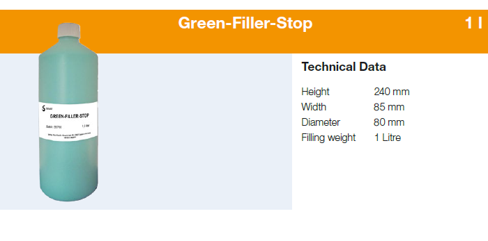 NOCOLOK-packaging-Green-Filler-Stop