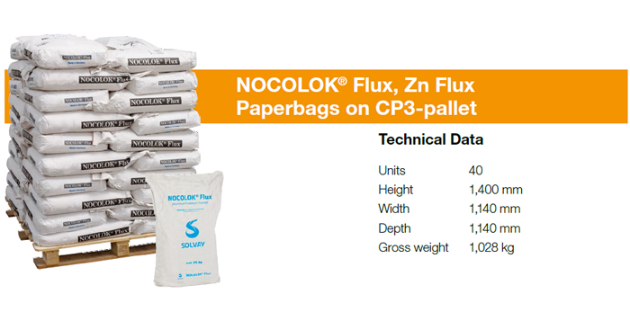NOCOLOK-packaging-paperbags-pallet