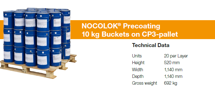 NOCOLOK-packaging-precoating-buckets