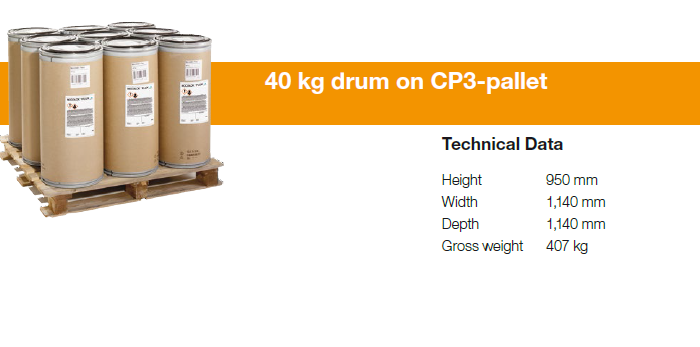 NOCOLOK-packaging-40kg-drum-pallet