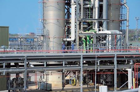 Hydrogen peroxide plant in Bernburg