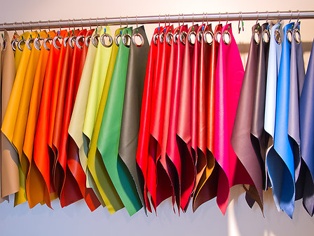 Coloured fabrics