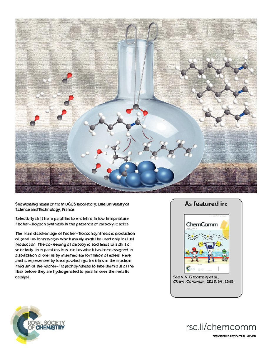 Cover Page of Chemical Communications_54 2018