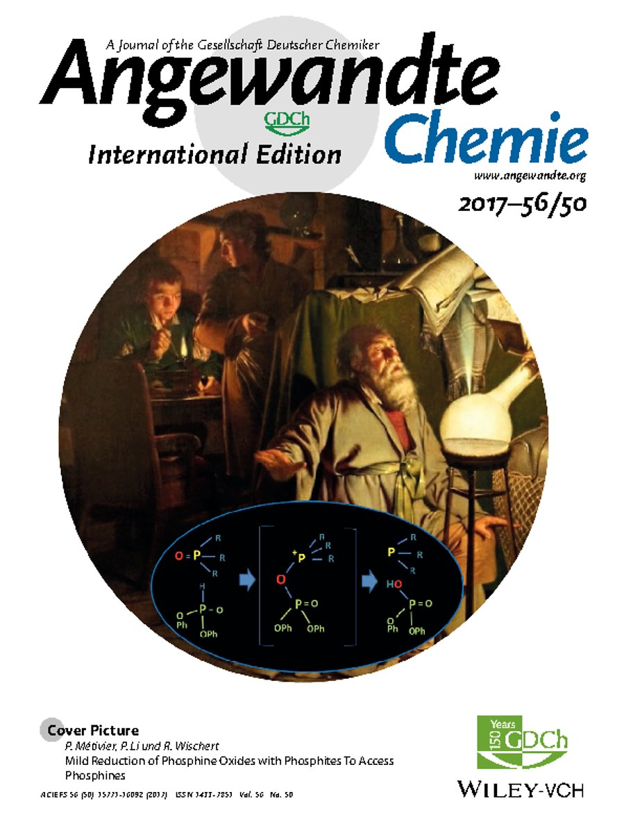 Cover Picture: Mild Reduction of Phosphine Oxides with Phosphites To Access Phosphines (Angew. Chem. Int. Ed. 50/2017)