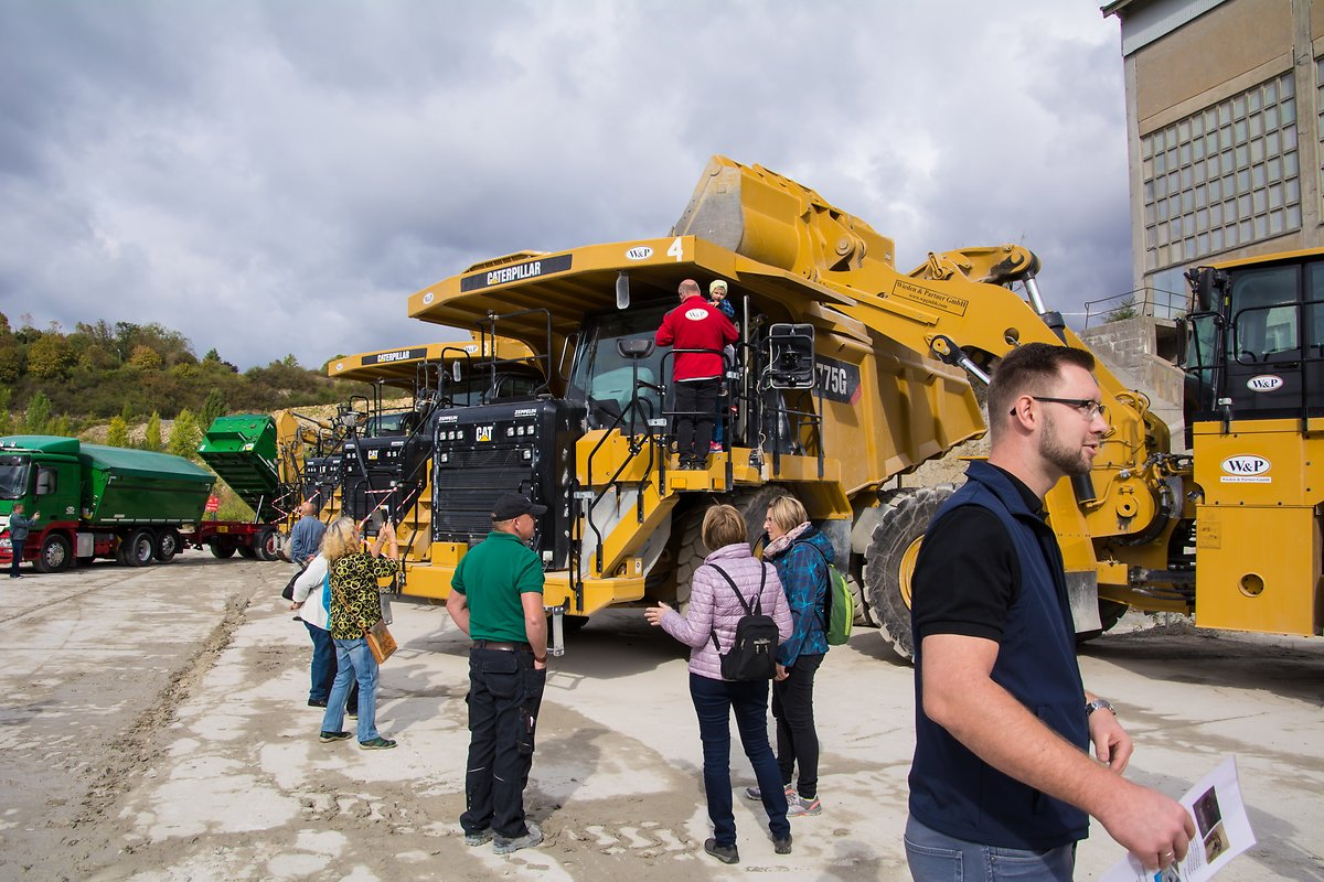 BBG-Tag-der-offenen-tuer-2018-technic in the quarry
