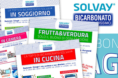 Bicarbonato products infographics