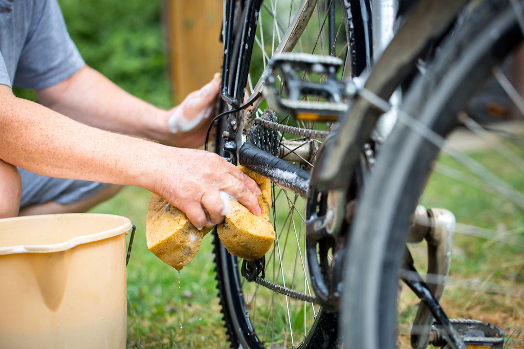 Washing Bicycle