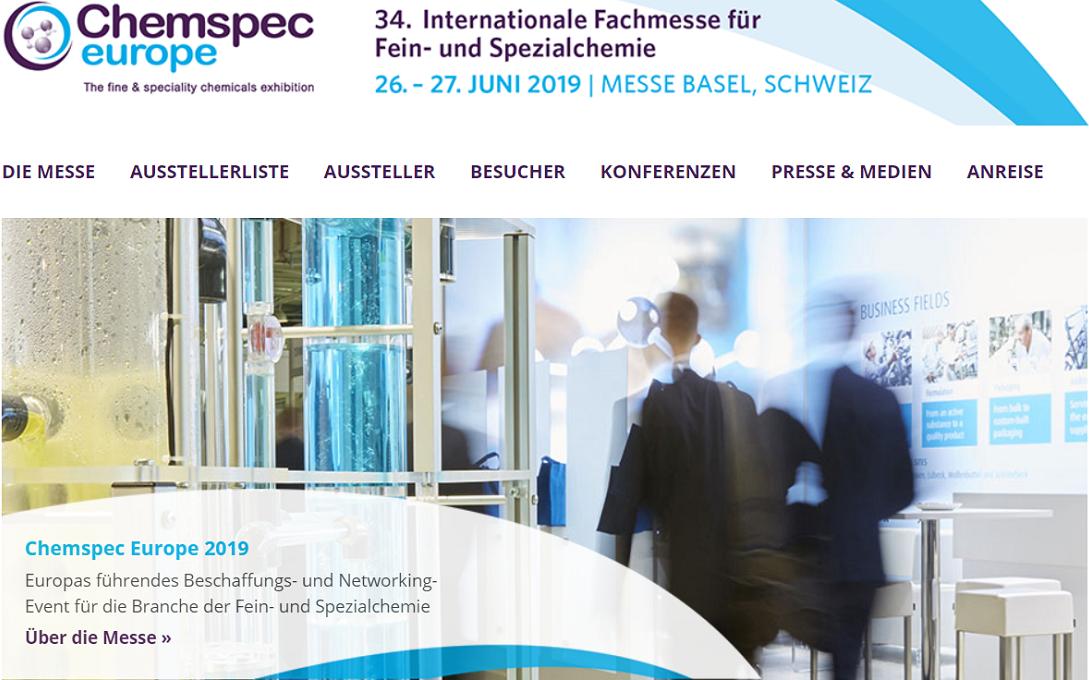 Chemspec Europe 2019 | Solvay