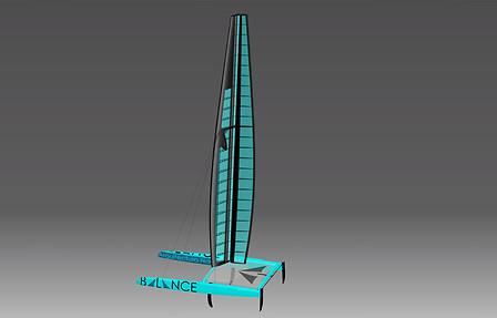 Catamaran graphic