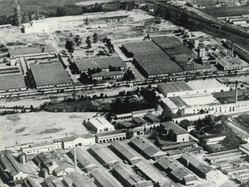 Rhodiaceta - Fábrica de Nylon