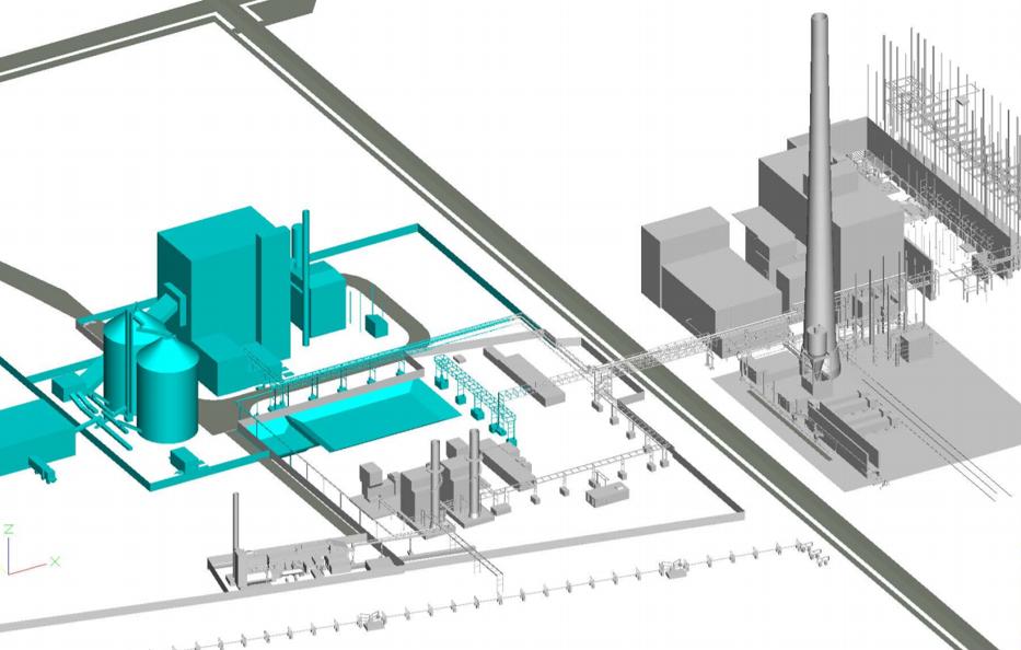2019_07 Woodpower - Anbindung an das bestehende Kraftwerk