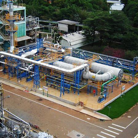 Unidade de Abatimento de Gases de Efeito Estufa