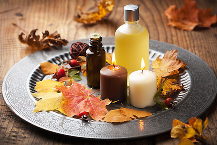 Autumn spa