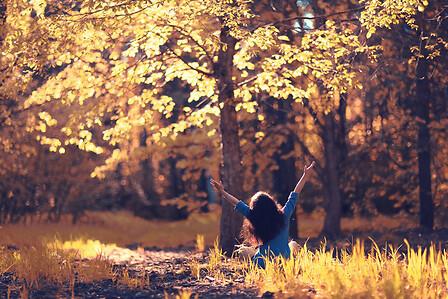 Woman in autumn Lifestyle