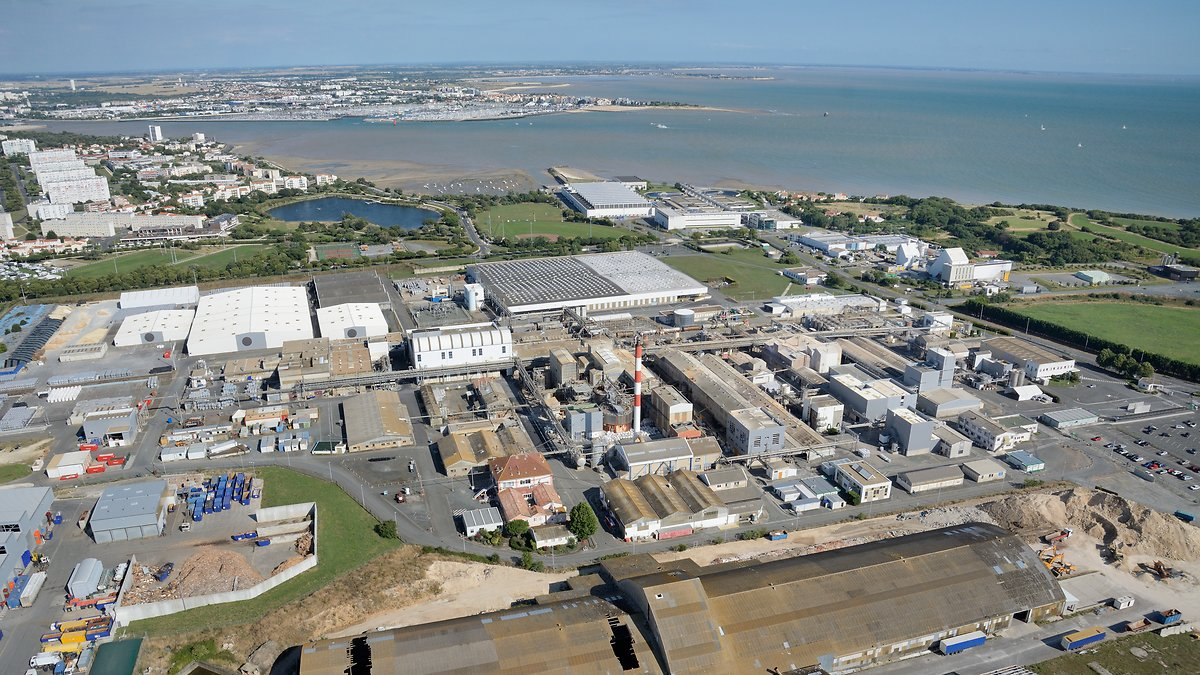 La Rochelle site in France