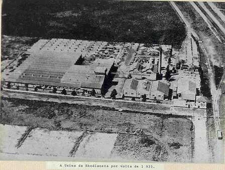 imagem aérea da Rhodia em 1935 em Santo André (SP) (002)