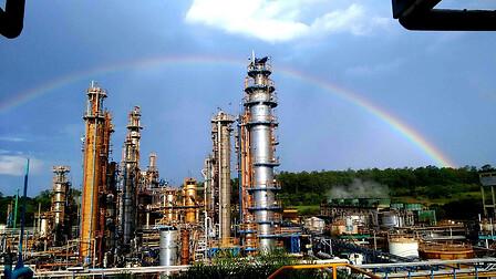 Planta industrial da Rhodia em Paulinia
